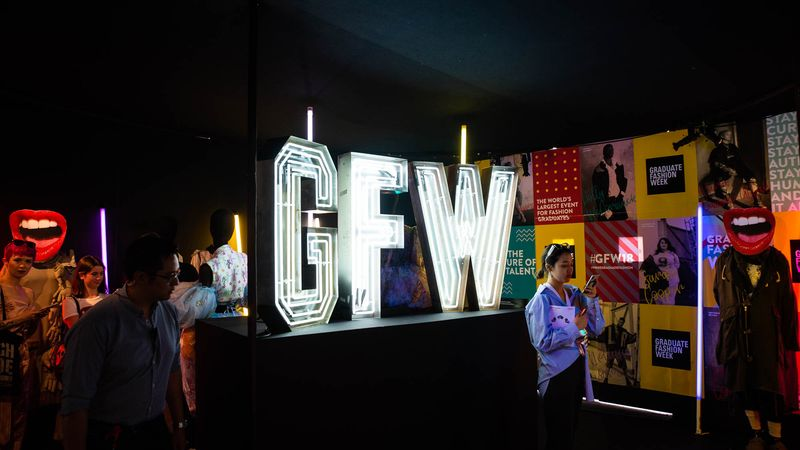 Graduate Fashion Week Display 2018