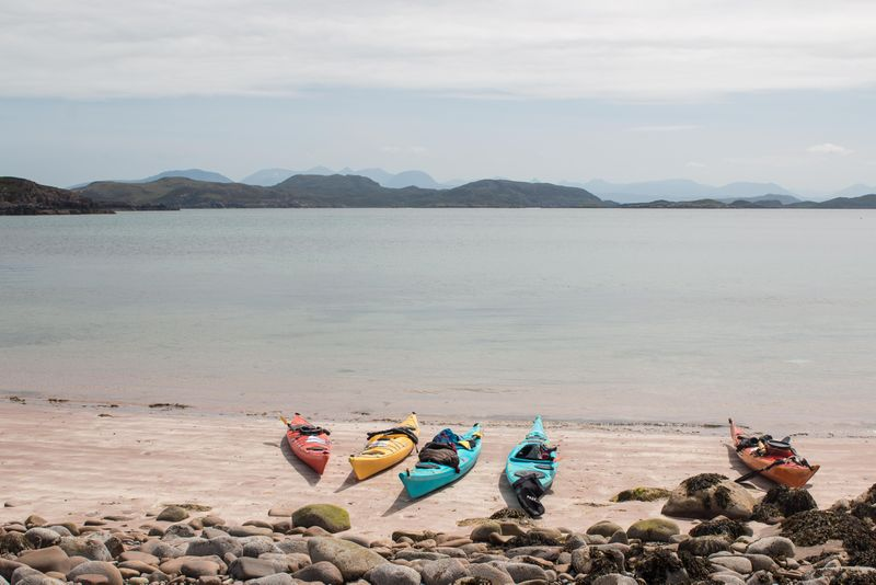 Coast magazine: Wild Camping and Kayaking in the Summer Isles