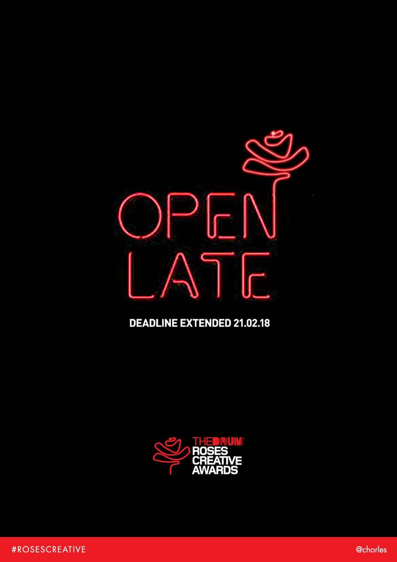 Roses Awards Deadline Extension Ad
