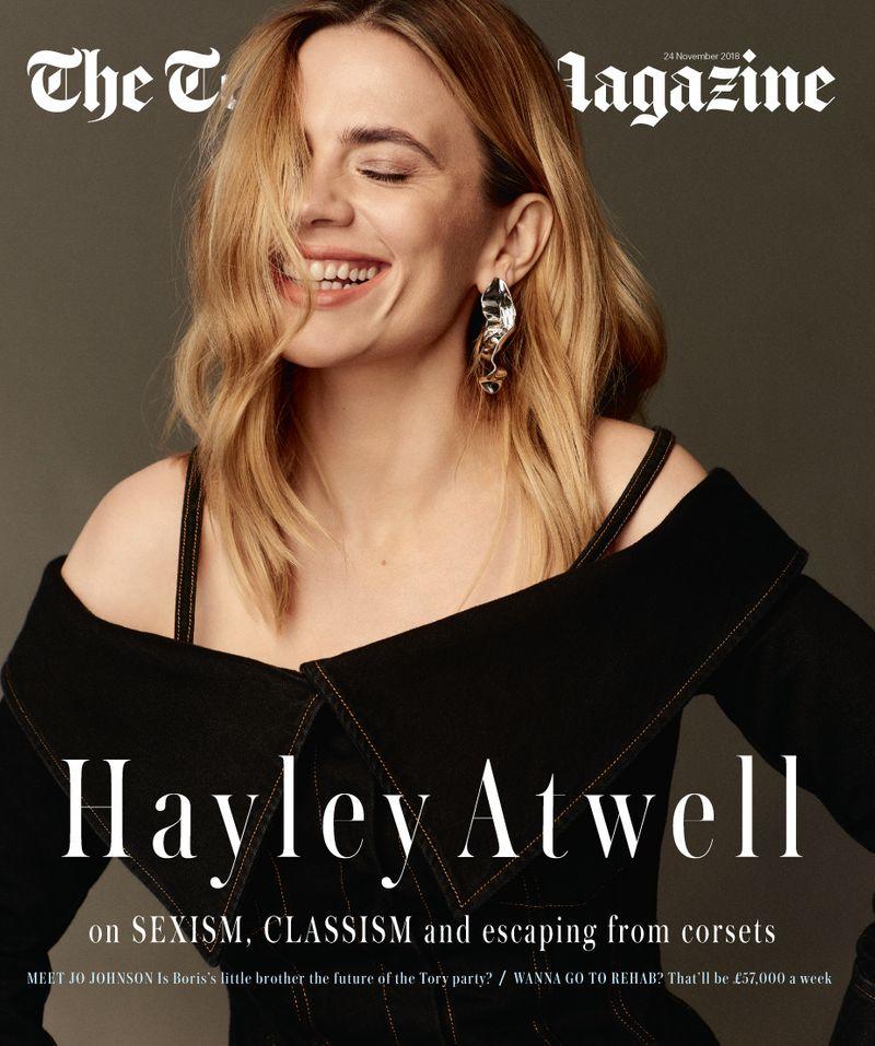 Hayley Atwell x Telegraph Magazine x Jason Hetherington