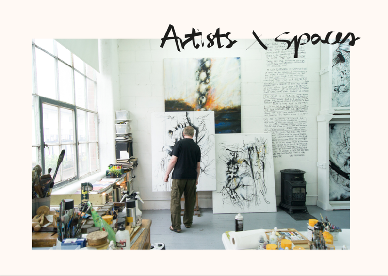 Artists x spaces