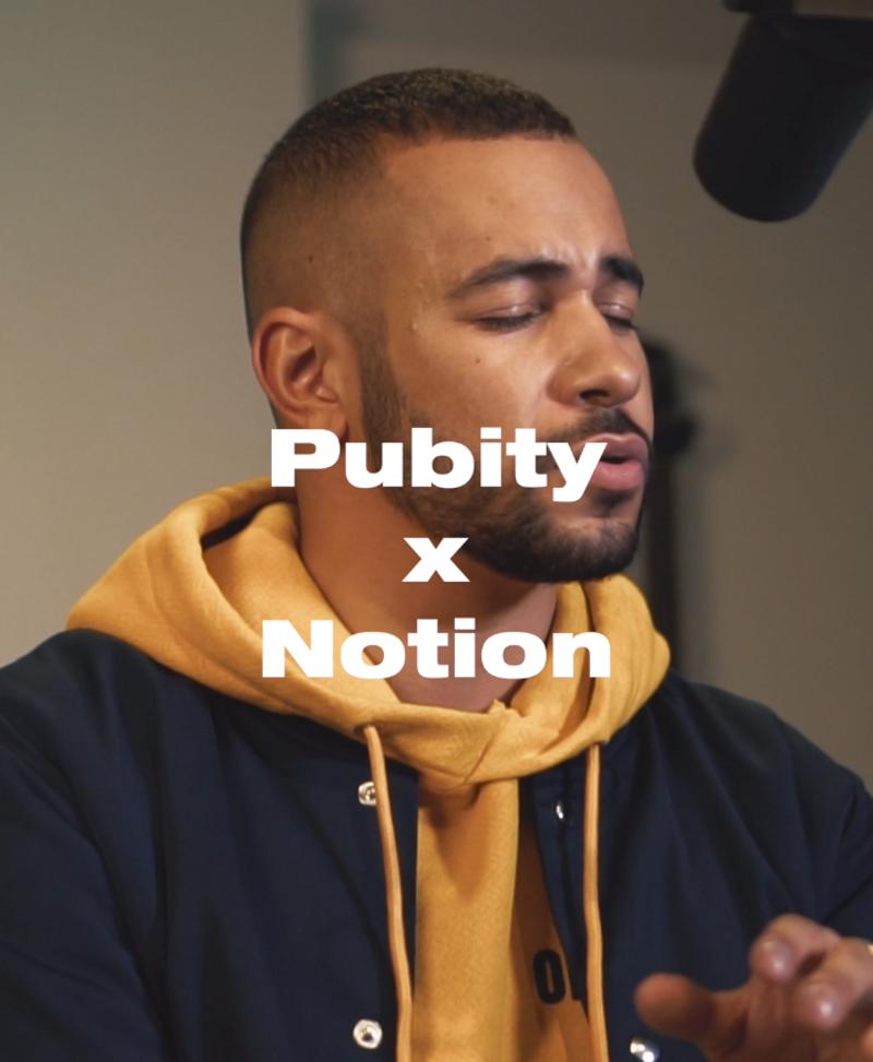 Pubity x Notion Magazine