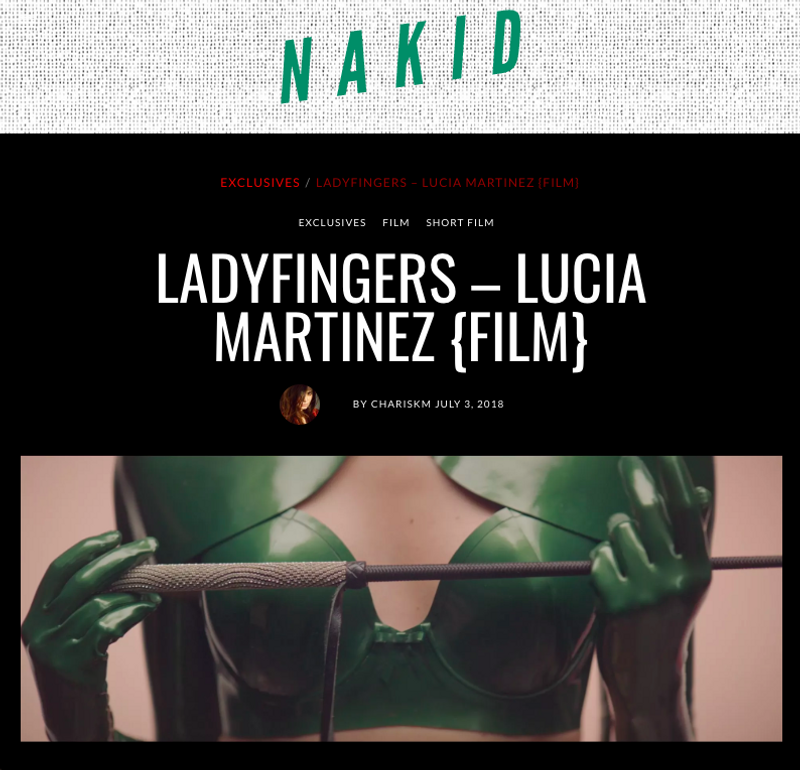 Ladyfingers, short film by Lucia Martinez