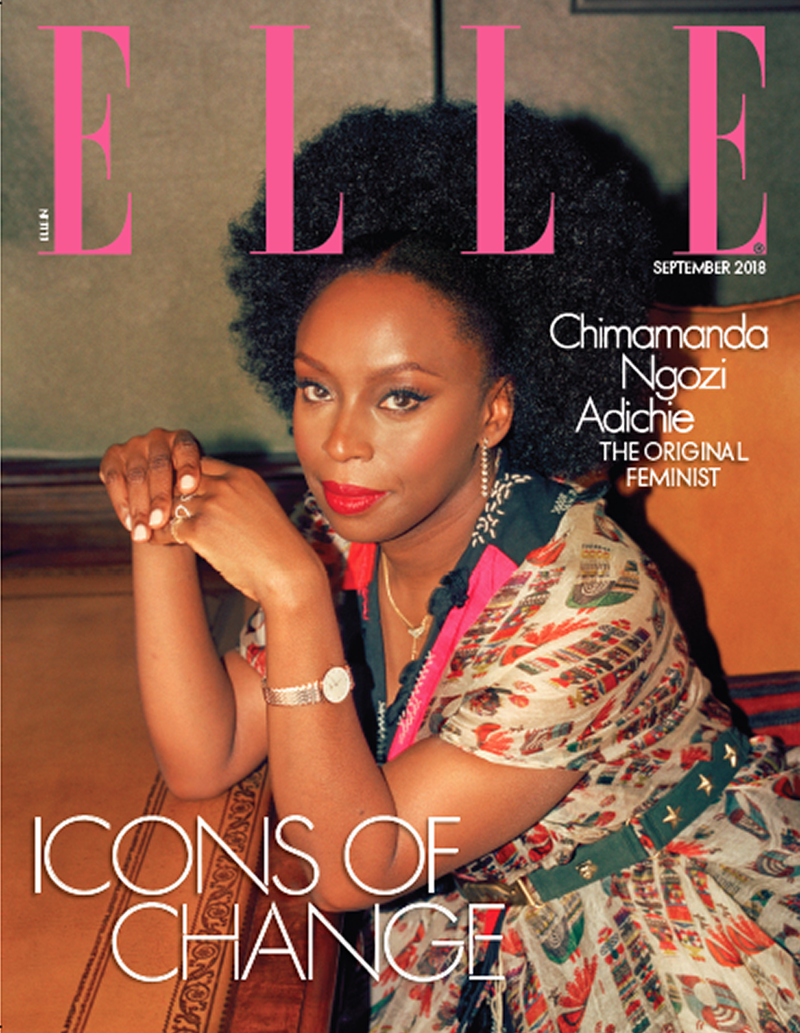 ELLE INDIA FEATURING CHMAMANDA ADICHE