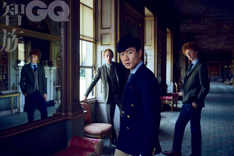 GQ CHINA FEATURING JJ LIN