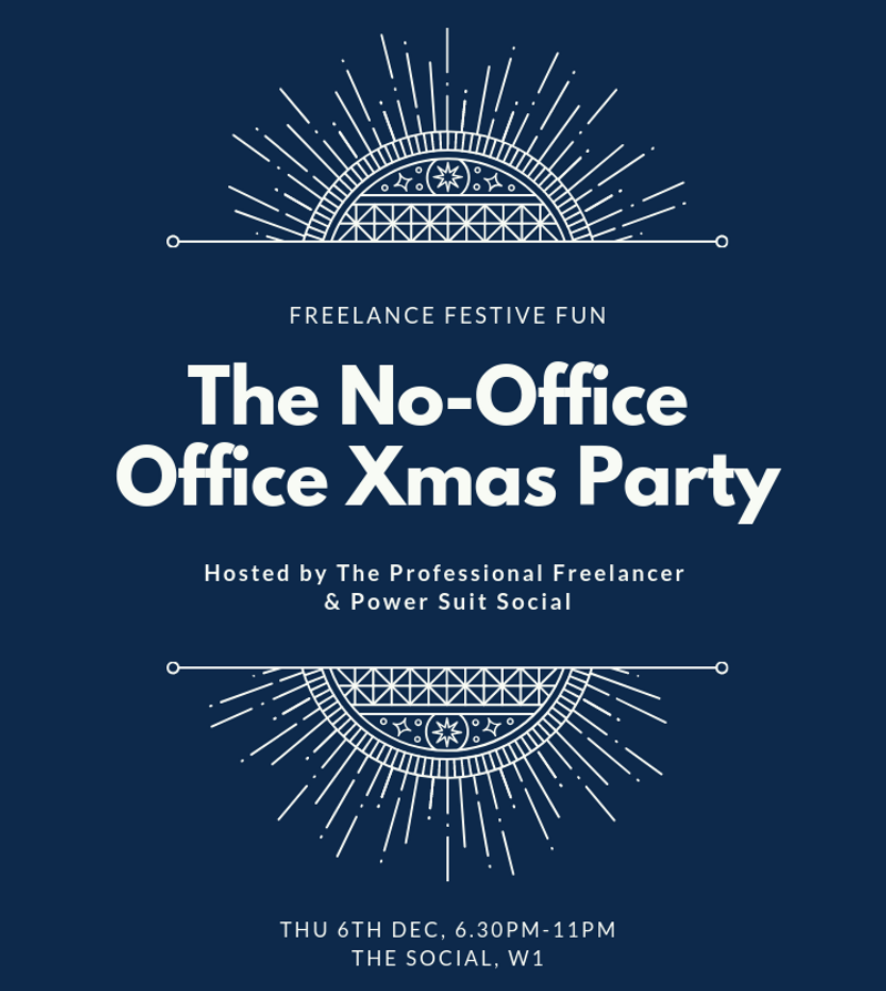 The No-Office Office Xmas Party (6th Dec)