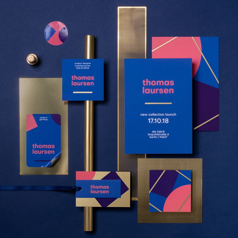 Printed products for designer branding