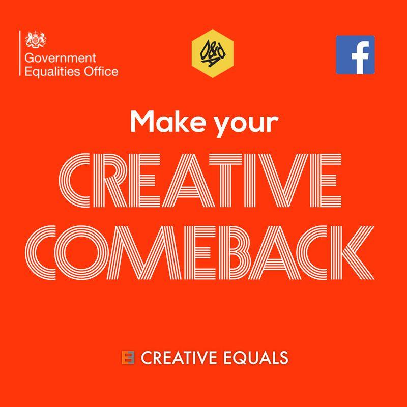 Had a career break? Make your creative comeback here...