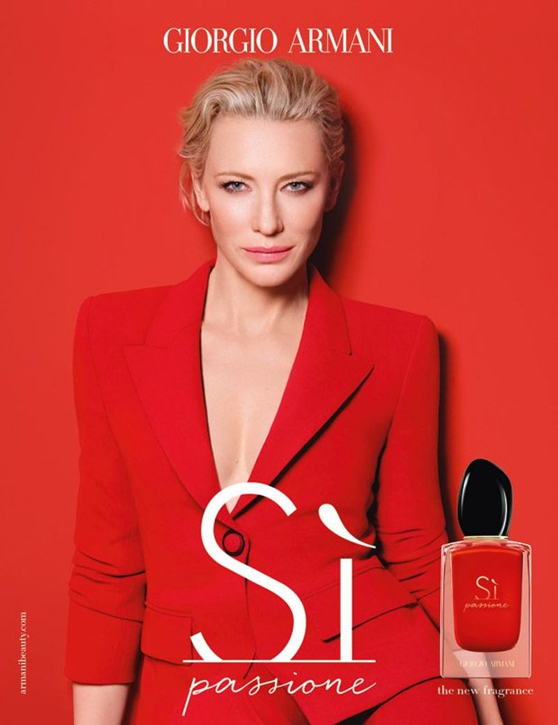 Armani Si with Cate Blanchett