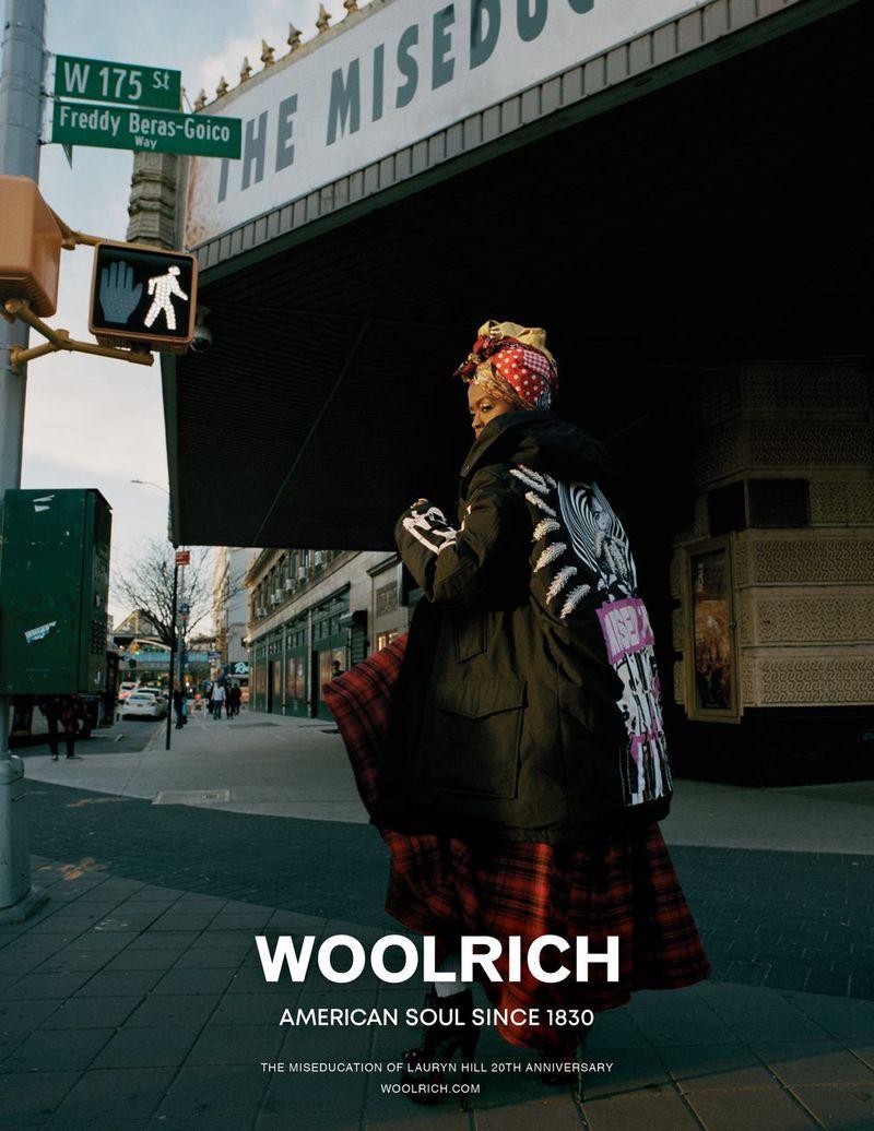 WOOLRICH - MS. LAURYN HILL