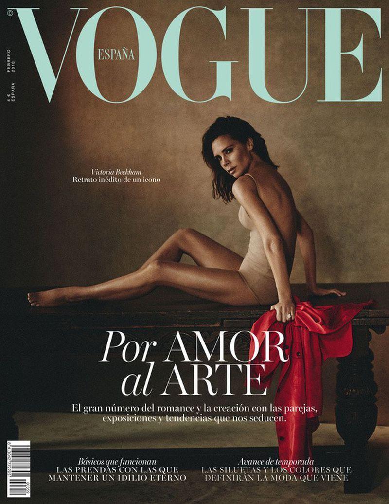 Vogue España - Victoria Beckham