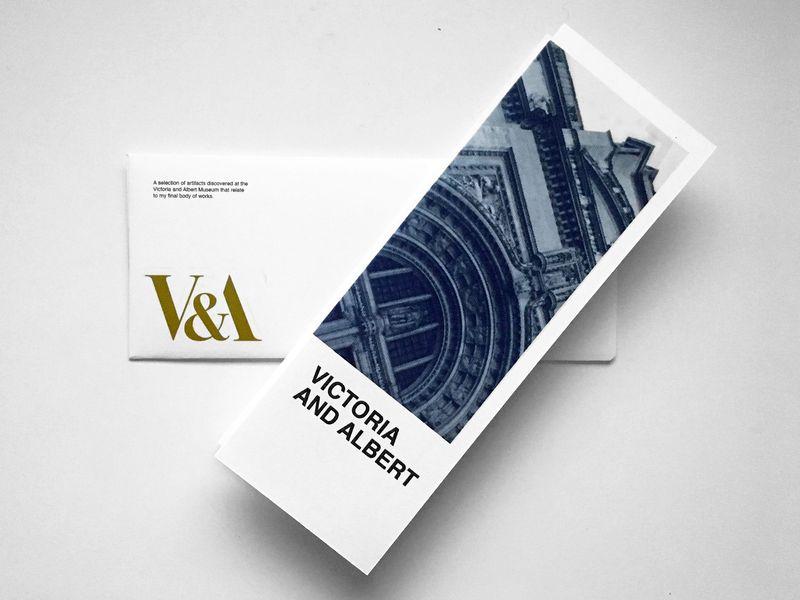 V&A Brochure Design