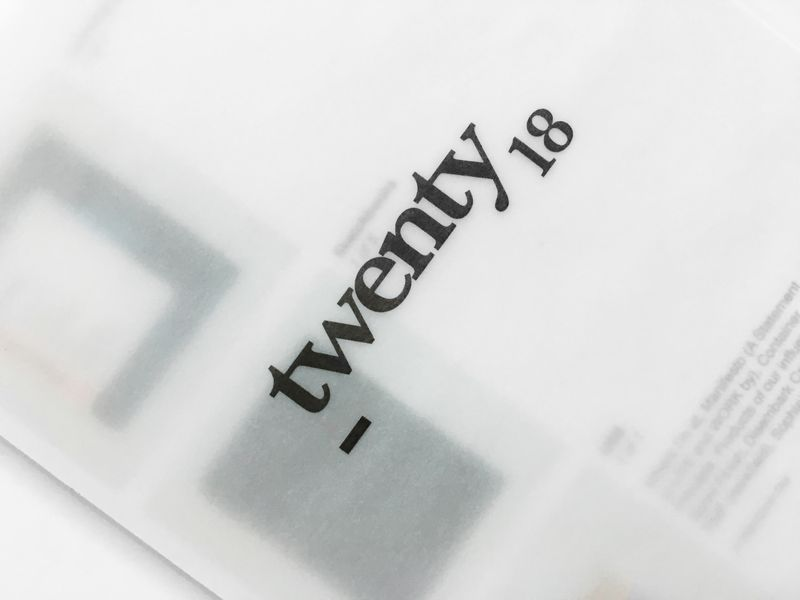 Twenty 18: Inventory