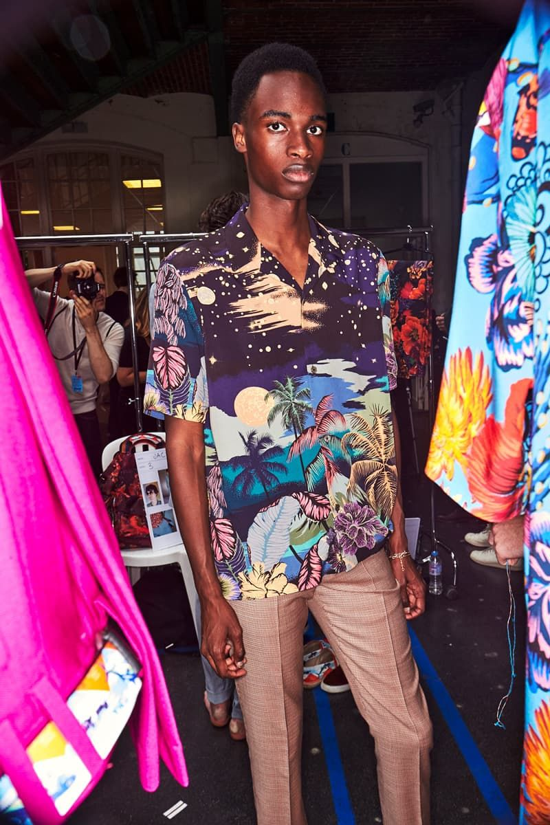 SS18 Paul Smith Backstage