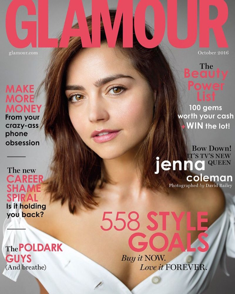 Jenna Coleman for Glamour Oct '19