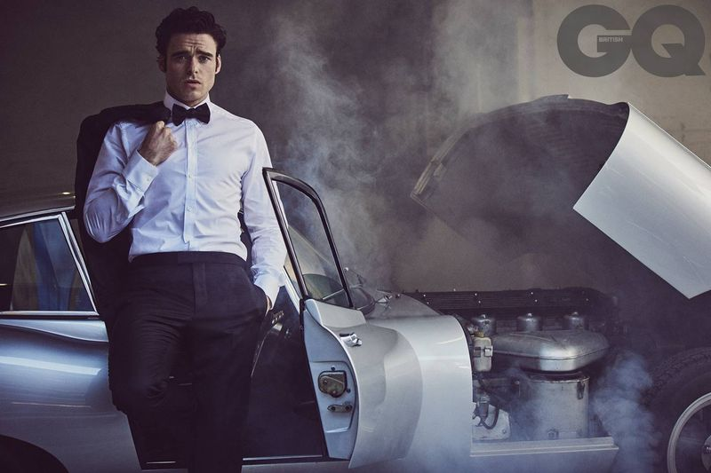 Richard Madden for the cover of British GQ