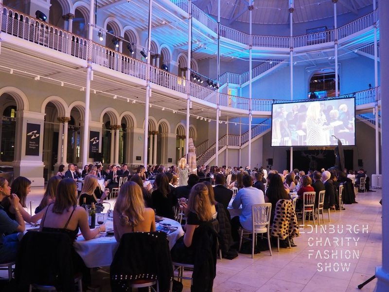 Edinburgh Charity Fashion Show 2016/17