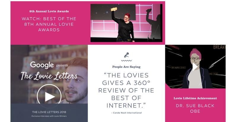 Scriptwriter - The 8th Annual Lovie Awards