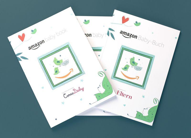 Amazon Baby Book UK, DE & FR (Design)