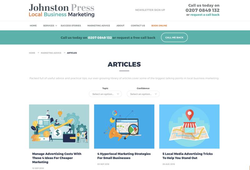 B2B Content Creation - Johnston Press