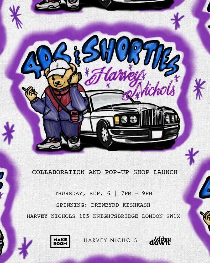 40s & Shorties X Harvey Nichols