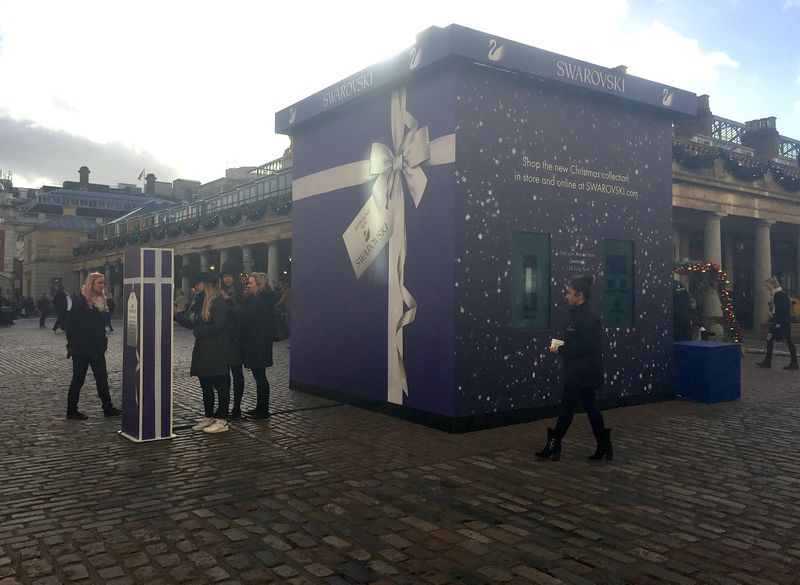 Swarovski Gift Box UK Tour