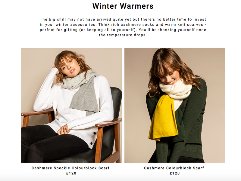 Winter Warmers Email - Jaeger