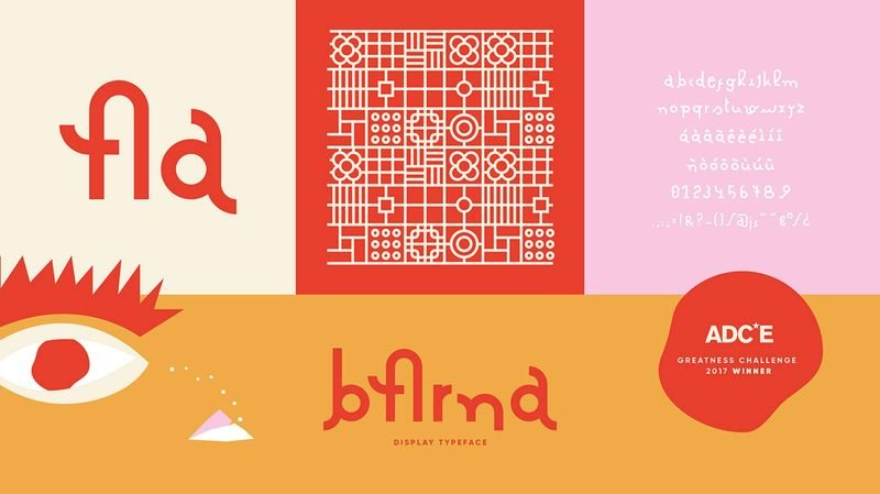 Barna Typeface - Art Directors Clube of Europe Award