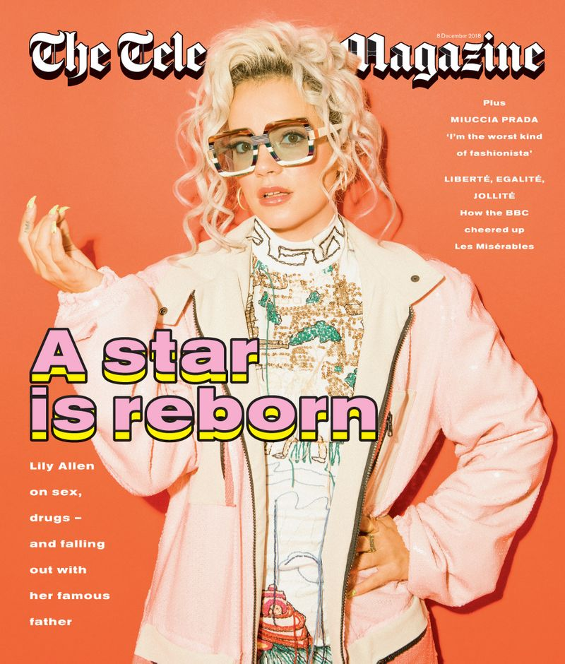 Lily Allen x Telegraph Magazine x Trevor Brady