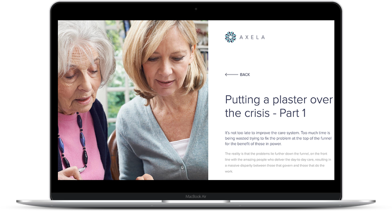 Helping to save the NHS with Axela