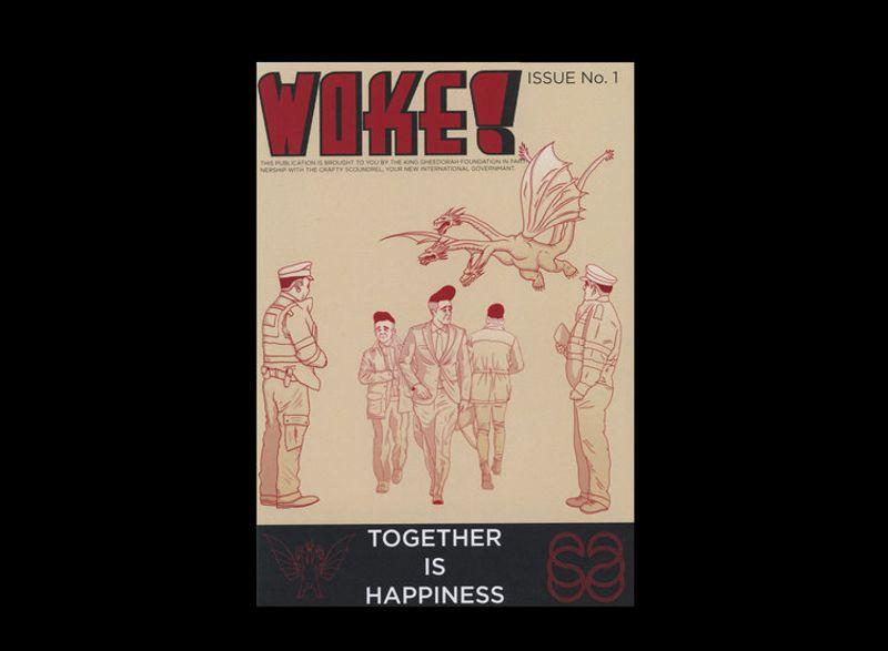 WOKE! magazine issue 1.