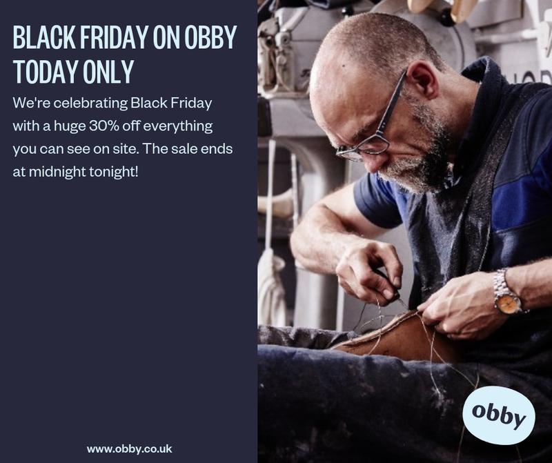 Black Friday: Social Media for Obby UK