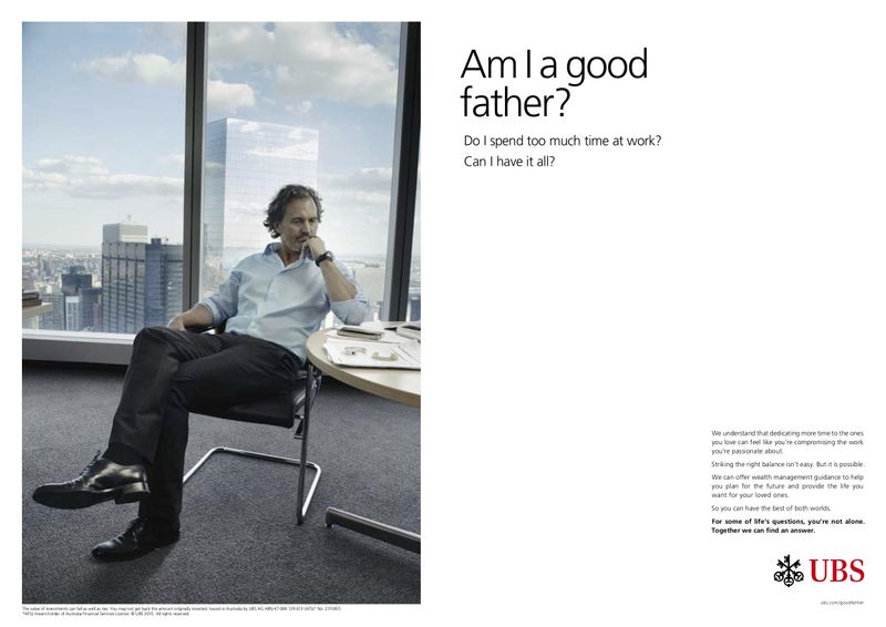 """UBS """"Life's Questions"""""""