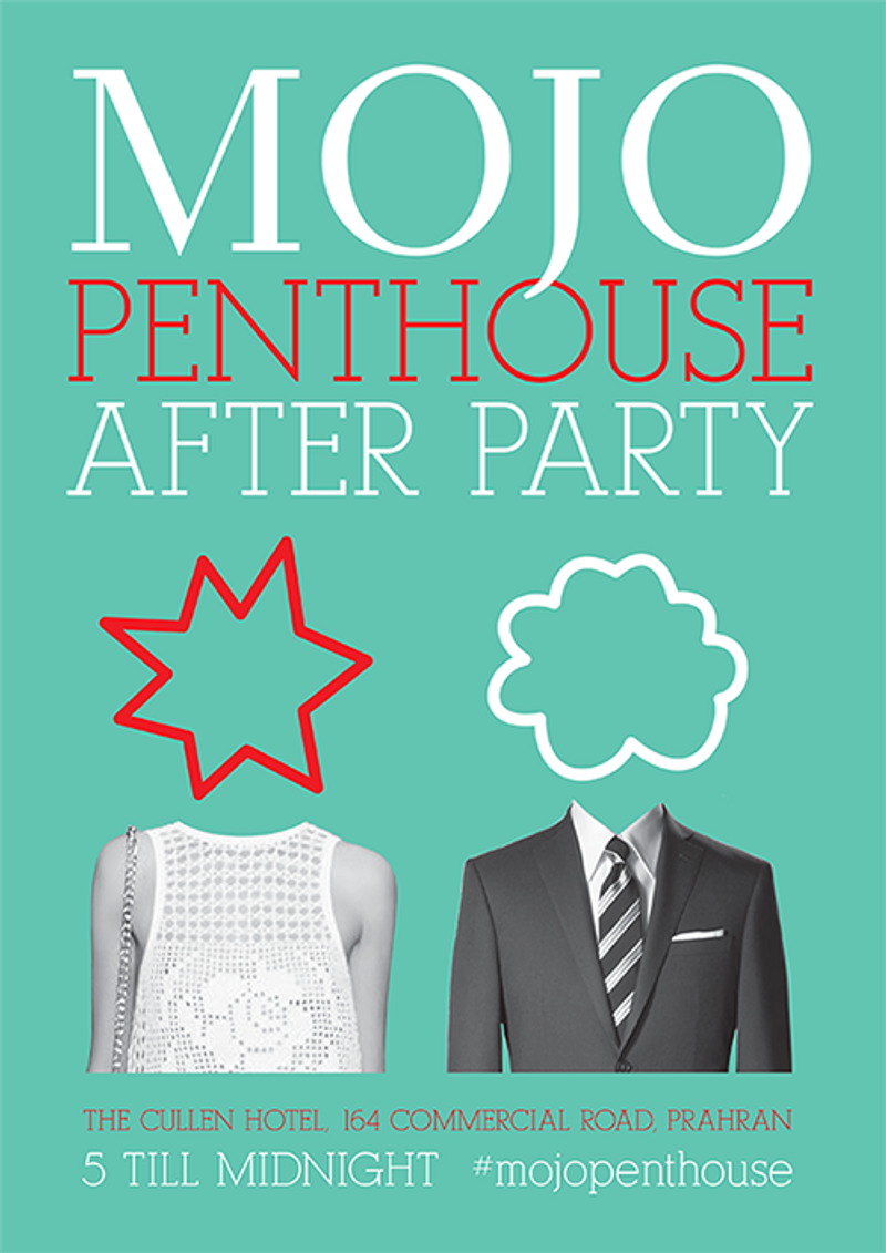 Promotion for Mojo Penthouse After Party