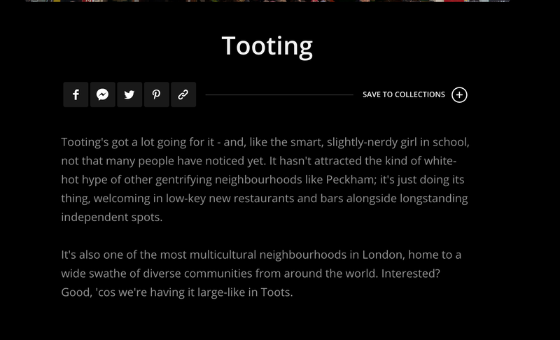 Area Guide: Tooting