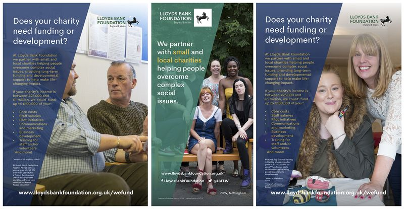 New Commercial Work For Lloyds Bank Foundation