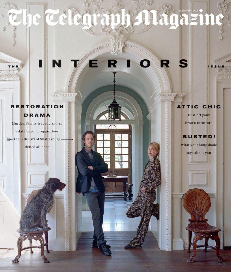 Telegraph Magazine x Earl of Shaftesbury x Tobias Harvey