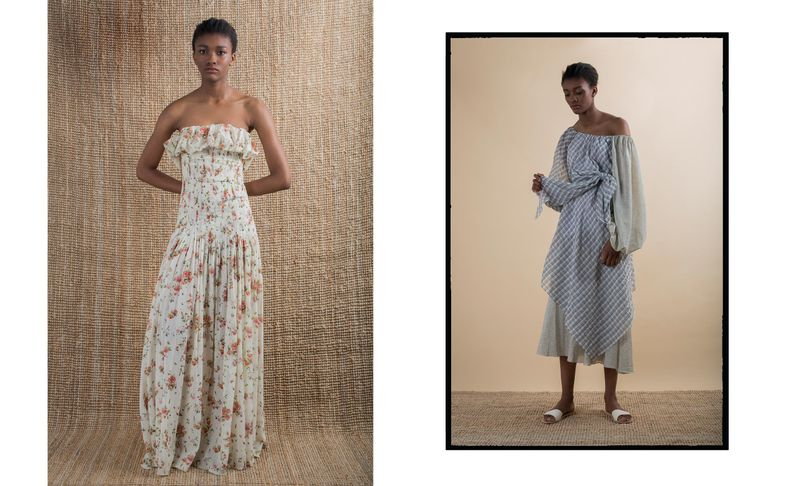 MATCHESFASHION.COM The Shoot: Modern Romance - Summer Dresses