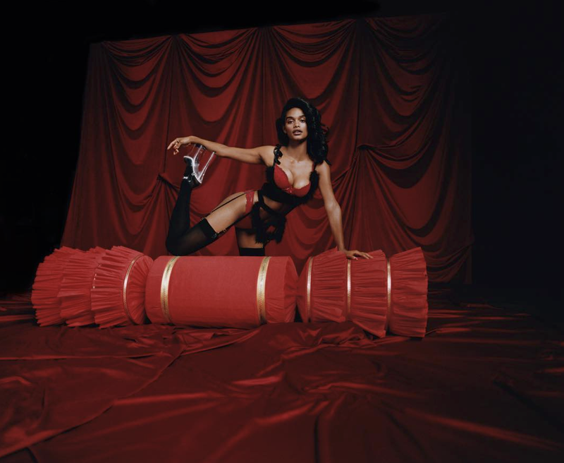 LOADER on Bolex film, Photographer Camille Summers-Valli for AGENT PROVOCATEUR