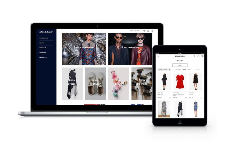 Conde Nast introduces Style.com: new luxury e-commerce site