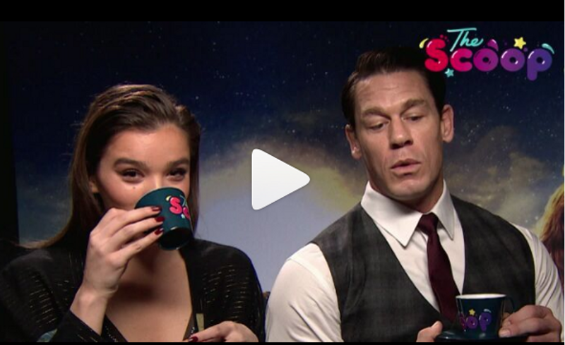 Junket with John Cena and Hailee Steinfeld