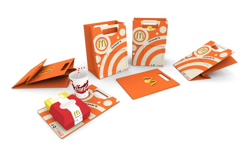 McDonald's Tray/Bag Packaging