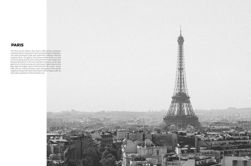 PARIS ARTICLE:  COMMISSIONED PHOTOGRAPHY