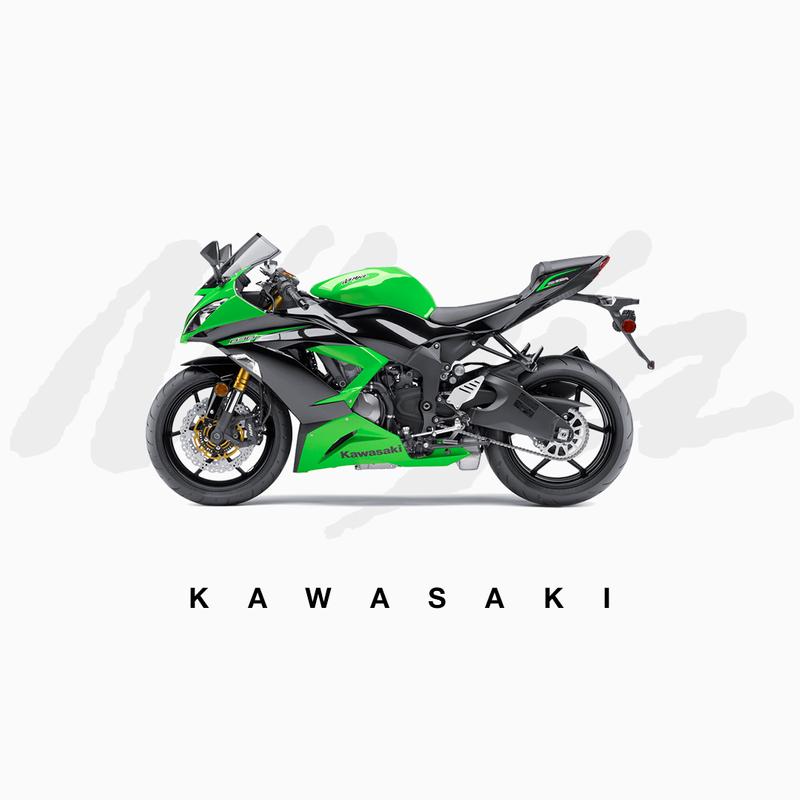 Kawasaki – Off-the-break and full throttle