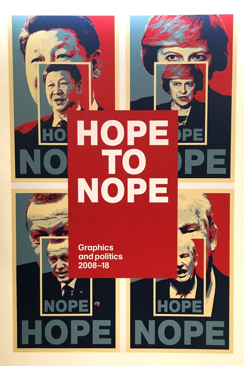 Hope to Nope: Graphics and Politics 2008-18