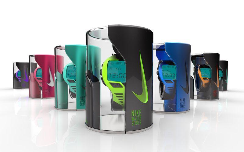 Nike Dark Energy II - Sportswatch Series