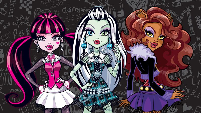 Monster High Social Media Animations