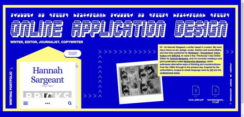 Application Website Design