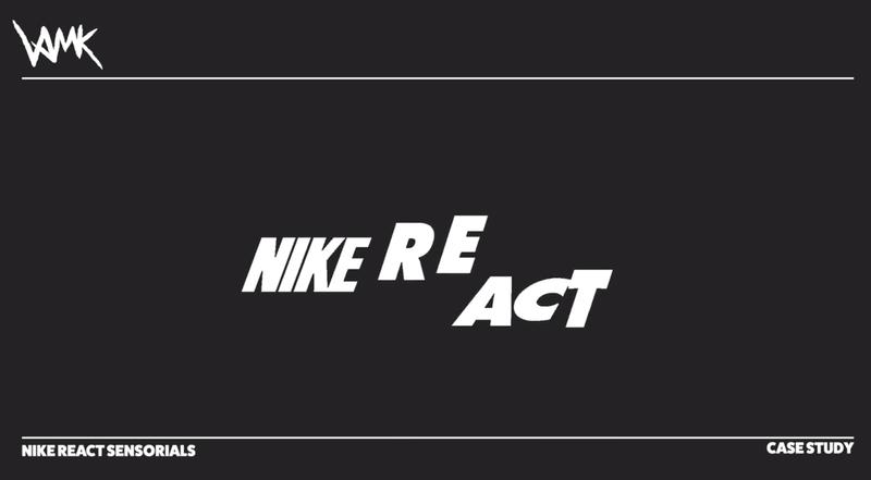 Nike REACT Sensorials