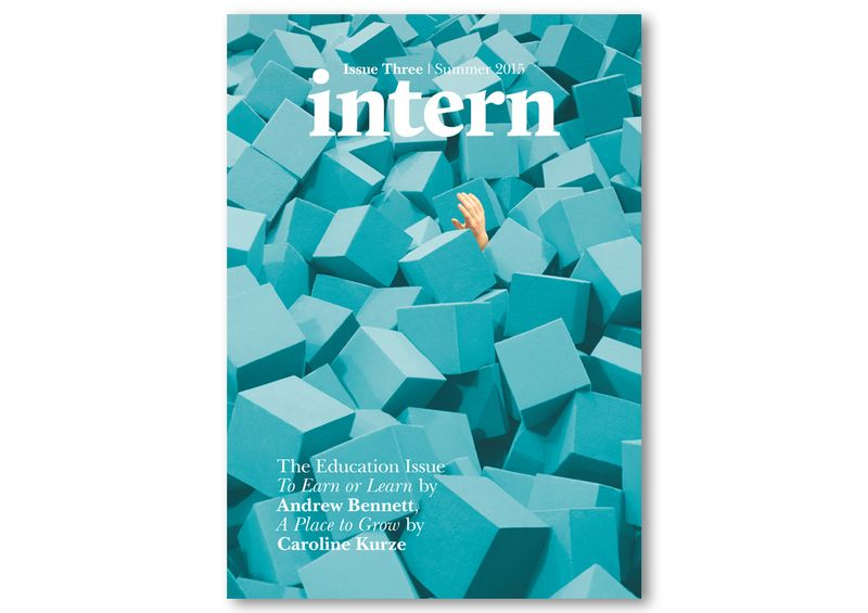 Intern Issue Three: The Education Issue